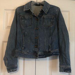 New York & Co women's jean jacket med